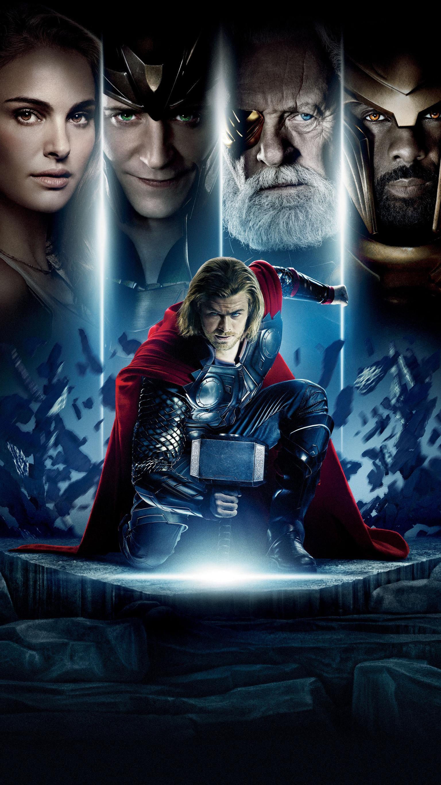 Thor 2011 Phone Wallpaper 映画 ポスター スーパーヒーロー映画
