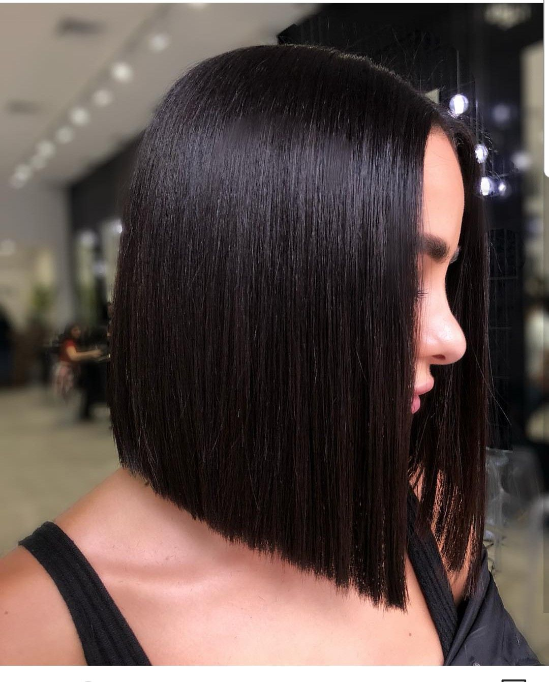 Pin By Sanaz Sh On Hair Thick Hair Styles Straight Hairstyles Hair Styles