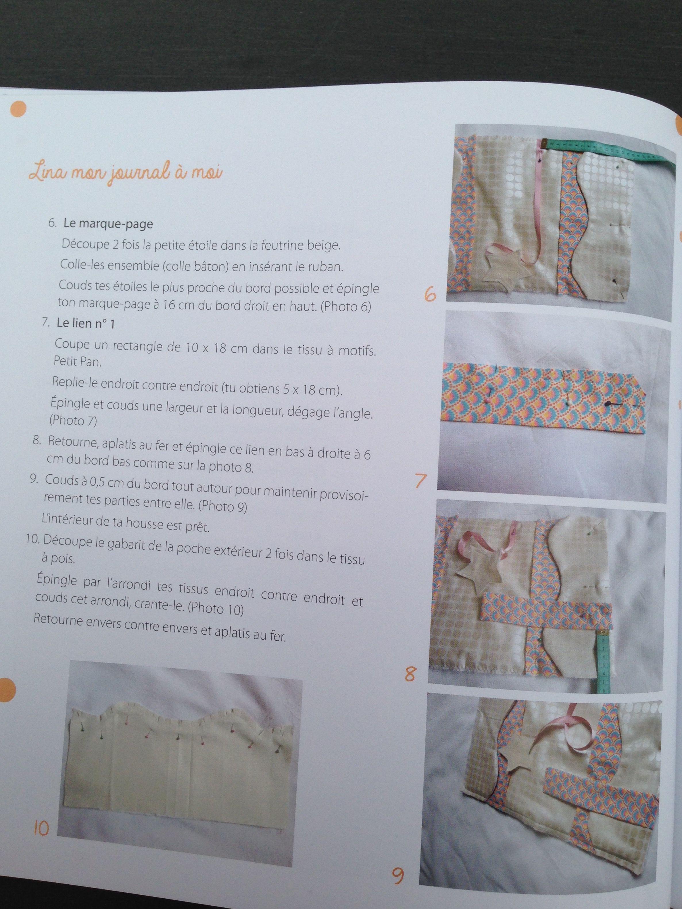 Couture pour enfants : mon journal 3