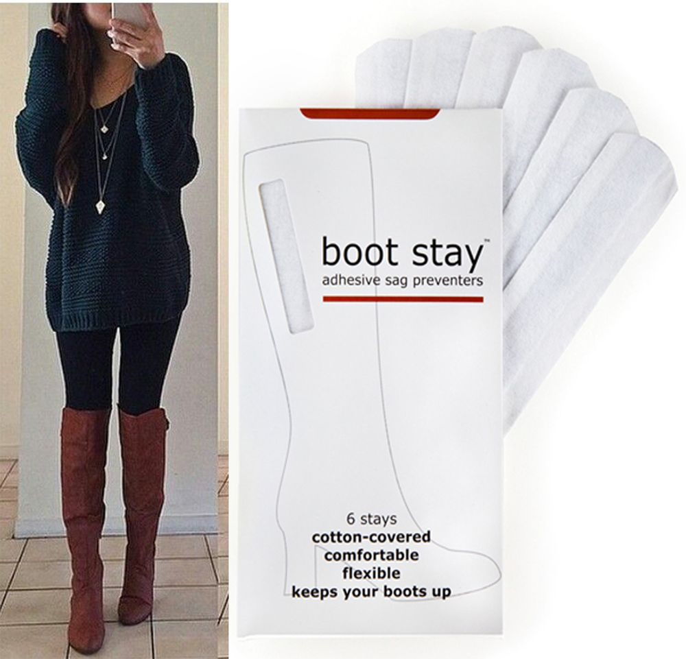 44f0ad4f3b Saggy Boots  👢👢 The solution is Boot Stay  Adhesive Sag Preventers.  Nobody wants their boots falling. It s just no fun pulling at them all day.
