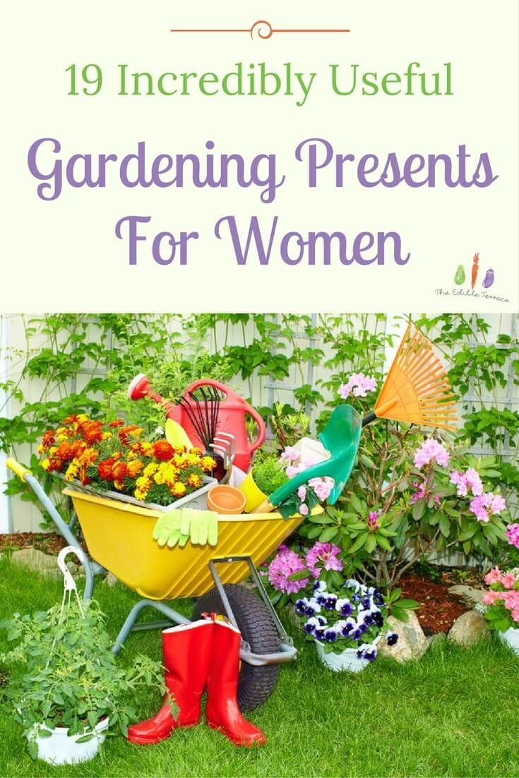 19 Incredibly Useful Gardening Presents for Women Garden