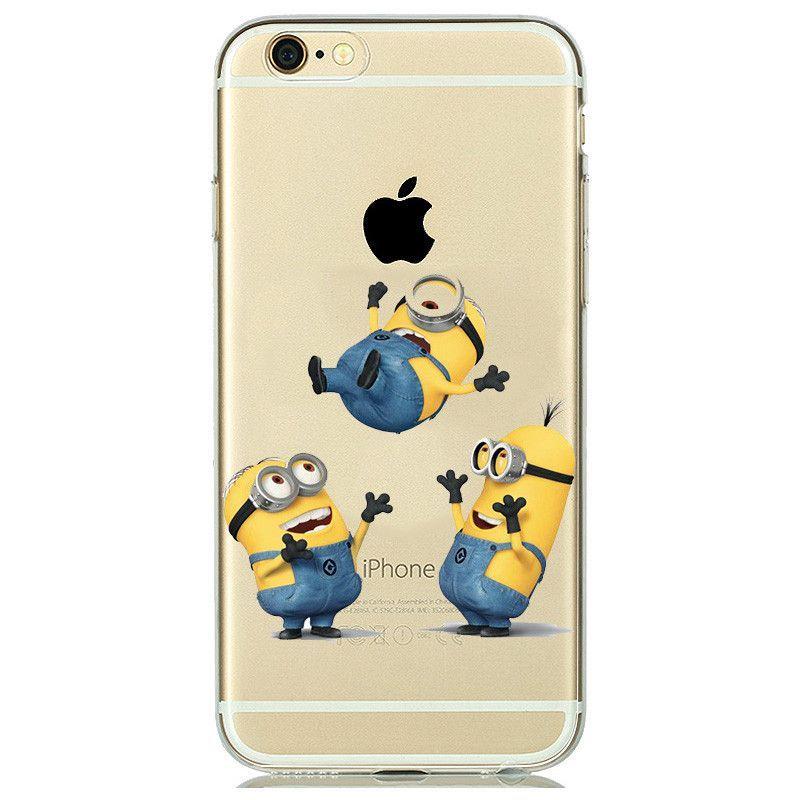 coque iphone 7 minion silicone