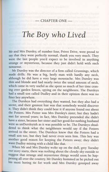 Harry Potter Harry Potter Books Poetry Books Chapter One