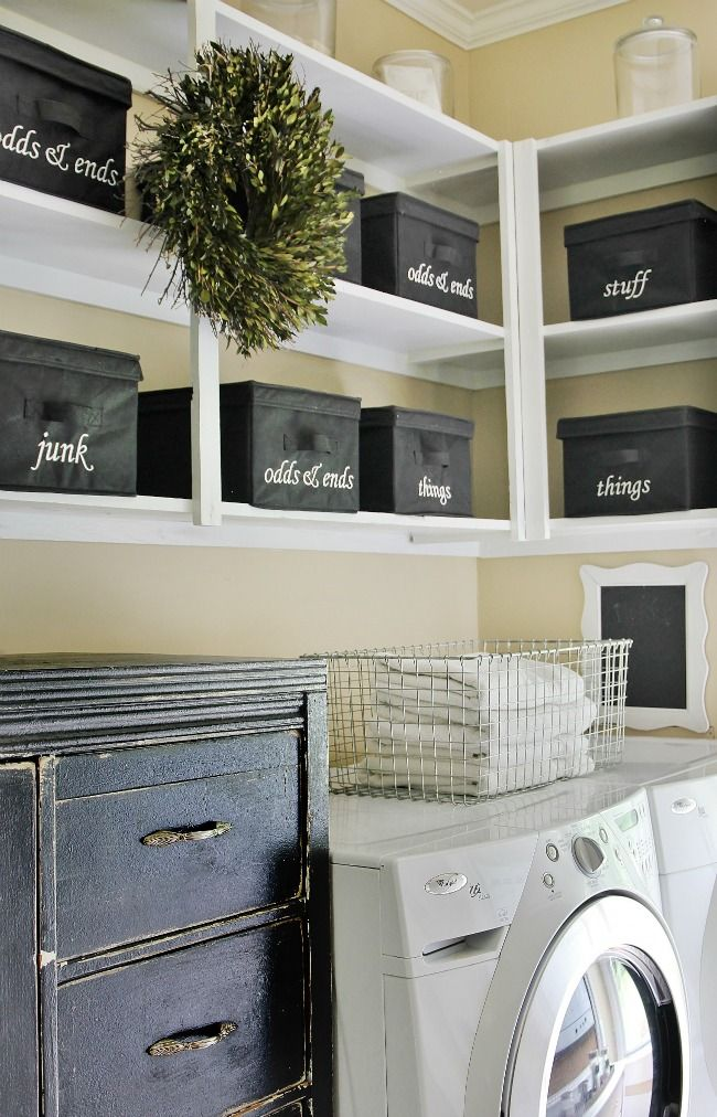 Laundry Room Refresh Without a Side of High Heels images