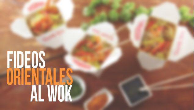 FIDEOS ORIENTALES AL WOK |