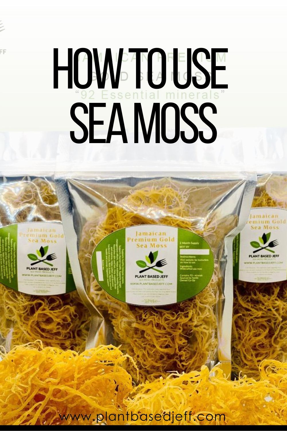 What Are Different Ways To Consume Sea Moss Sea Moss Moss Golo Diet