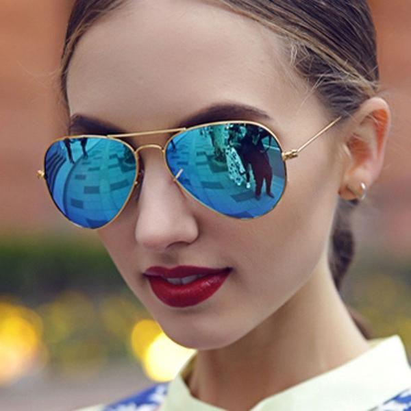 ebfd04d7a3  SUNGLASSES  NEW Aviation Sun Glasses For Men Women Brand Designer Vintage  Masculine Sunglasses Female Male Glasses Women s Men s Goggle