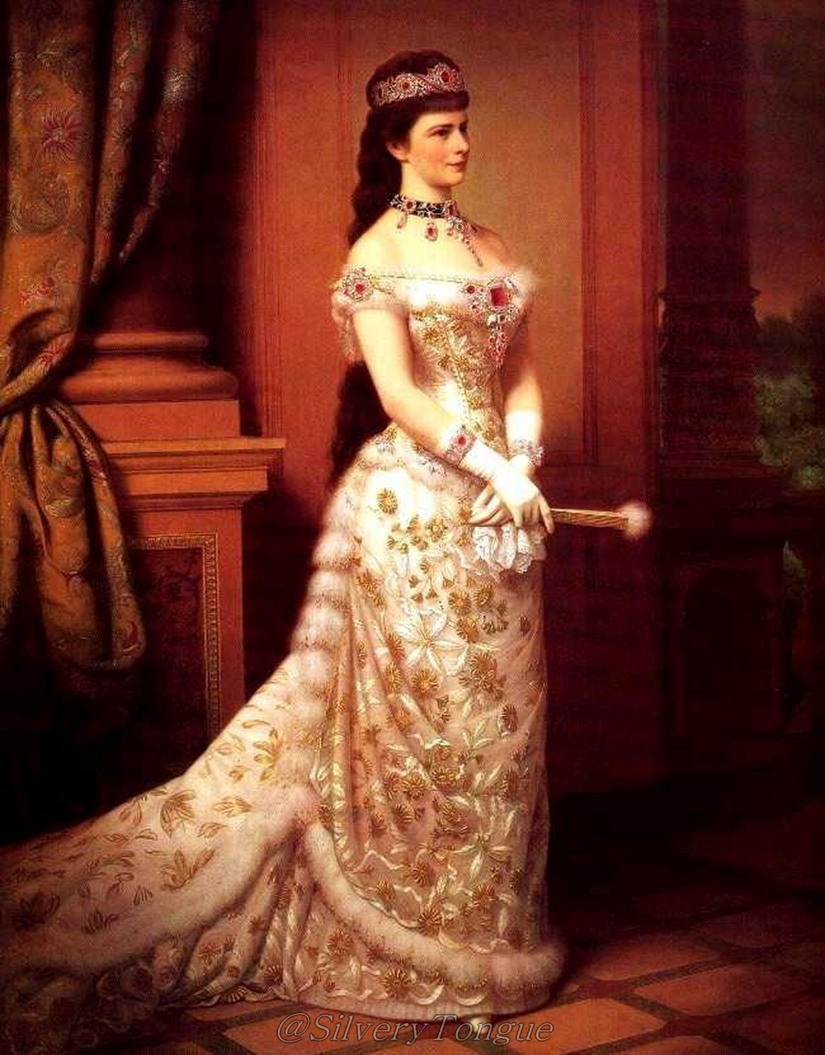 Image result for Elisabeth empress of Austria and queen of Hungary by Georg Raab