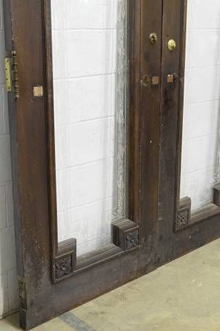 Columbus Architectural Salvage Full Light Entry Doors Commercial