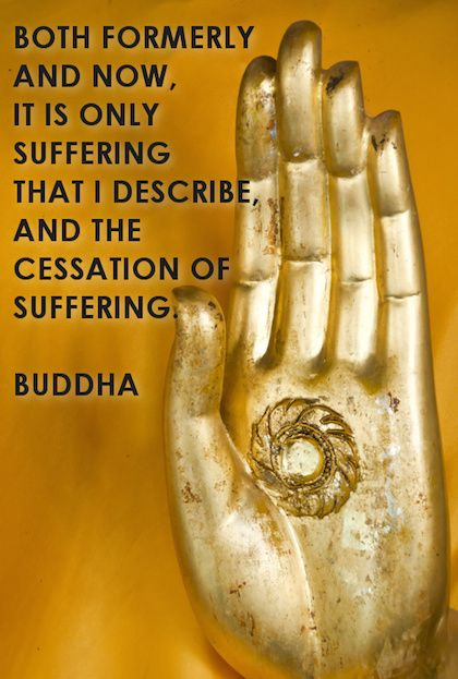 suffering buddha picture quote