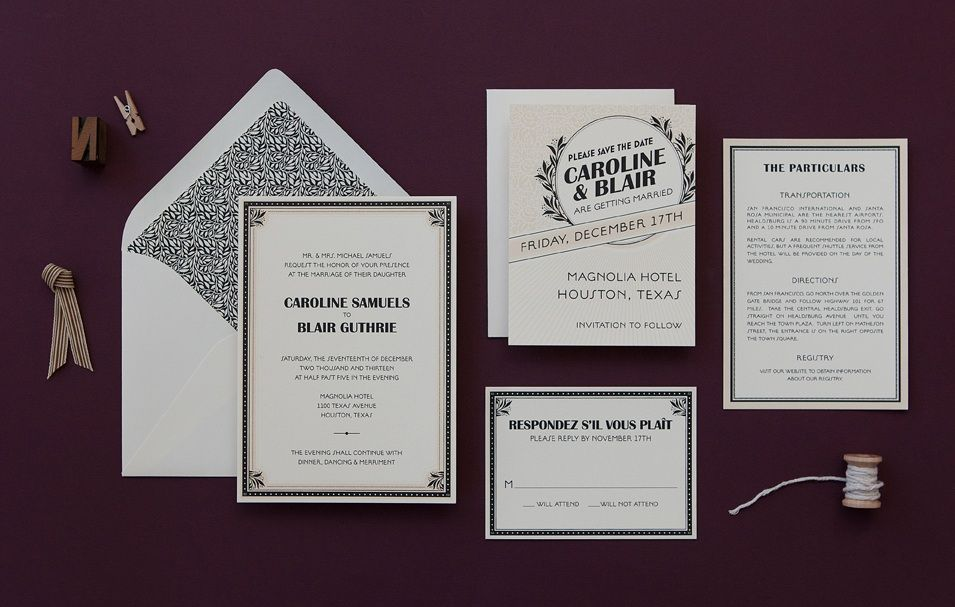 17 best images about 1920s invitations on Pinterest   Gatsby ...