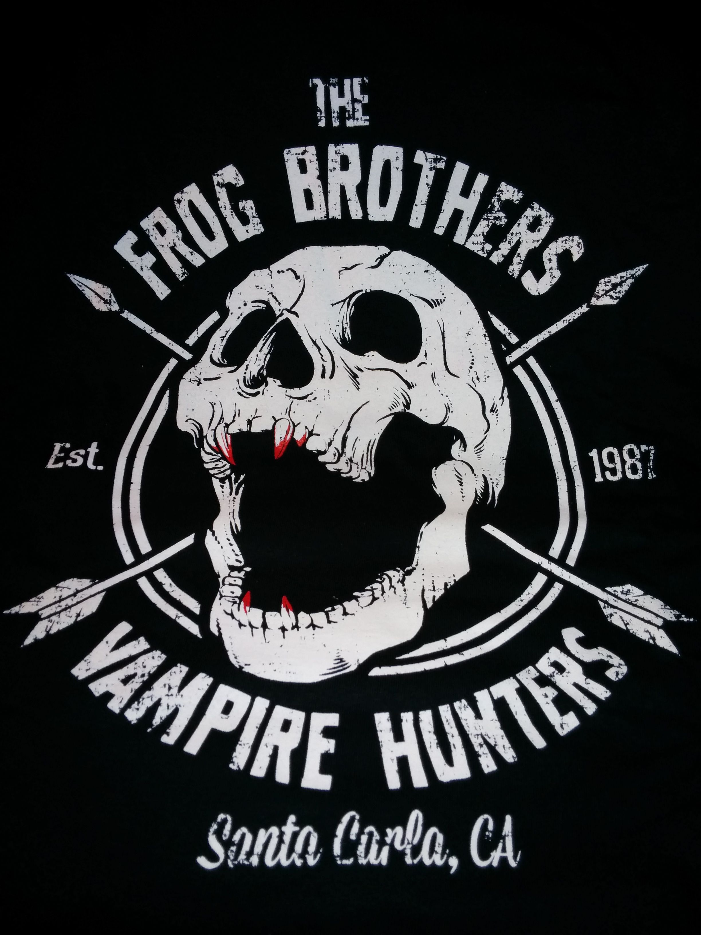 The Frog Brothers Lost boys, Retro horror, Vampire