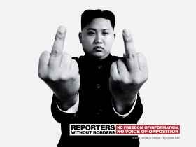 Reporters Without Borders: Kim