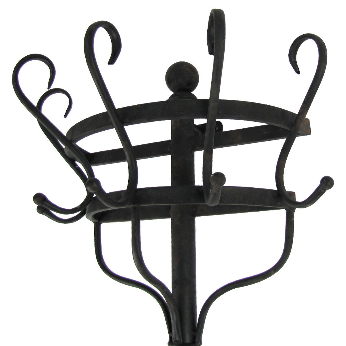 Antique Wall Mounted Coat Rack Details About Vintage Black Metal Wall Mount Metal Walls Black Metal Wall Mounted Coat Rack