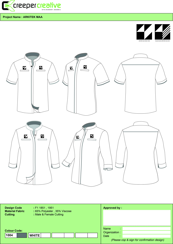 Corporate Shirt Vector