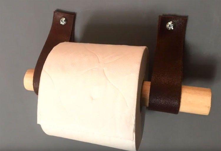 Diy Fabriquer Un Derouleur De Papier Toilette Deco Avec Une