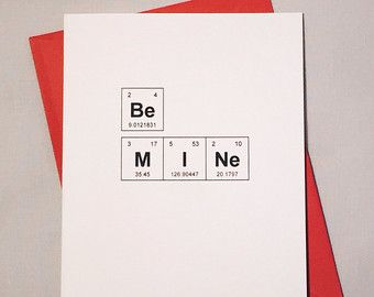 Periodic Table Valentine U2013 Etsy