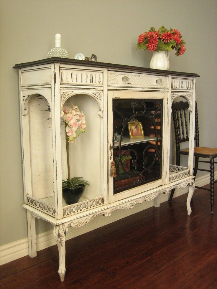 Furniture Shabby Chic Decor So Cute Wish I Could Find To Use For Media Center