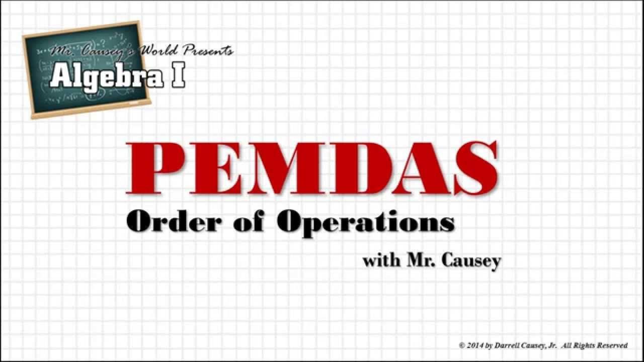 How to Use Order of Operations PEMDAS - Algebra | Algebra | Pinterest