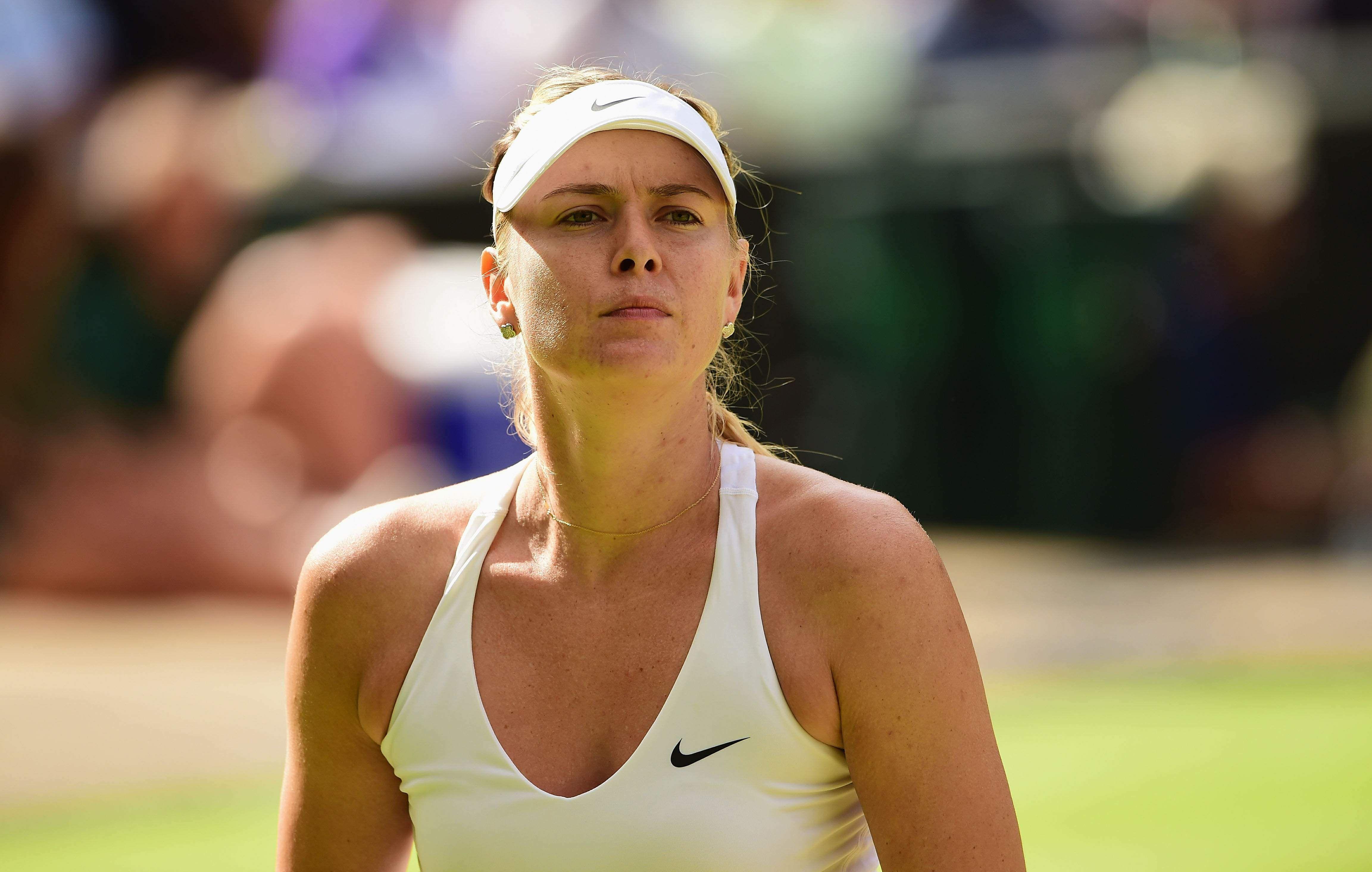 Maria Sharapova wins in Wimbledon Quarter Final | Maria