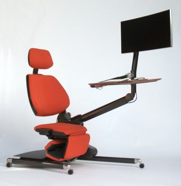 this computer desk allows you to work while lying down home goods rh pinterest co kr