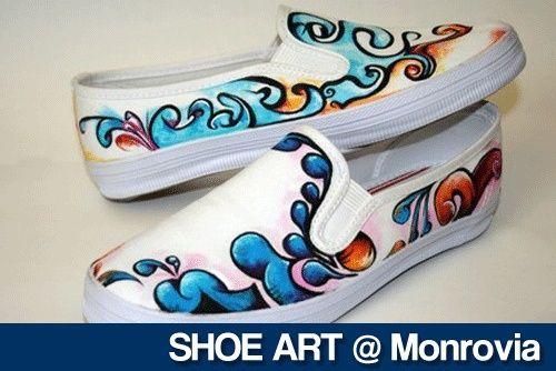 canvas shoes design