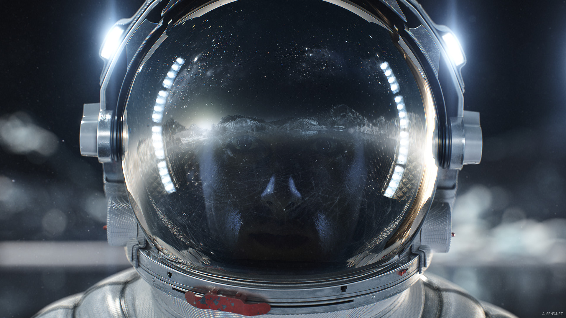 Artstation Vancouver Olympic Games Opening Id Spaceman Lookdev Serge Aleynikov Spaceman Astronaut 3d Artist