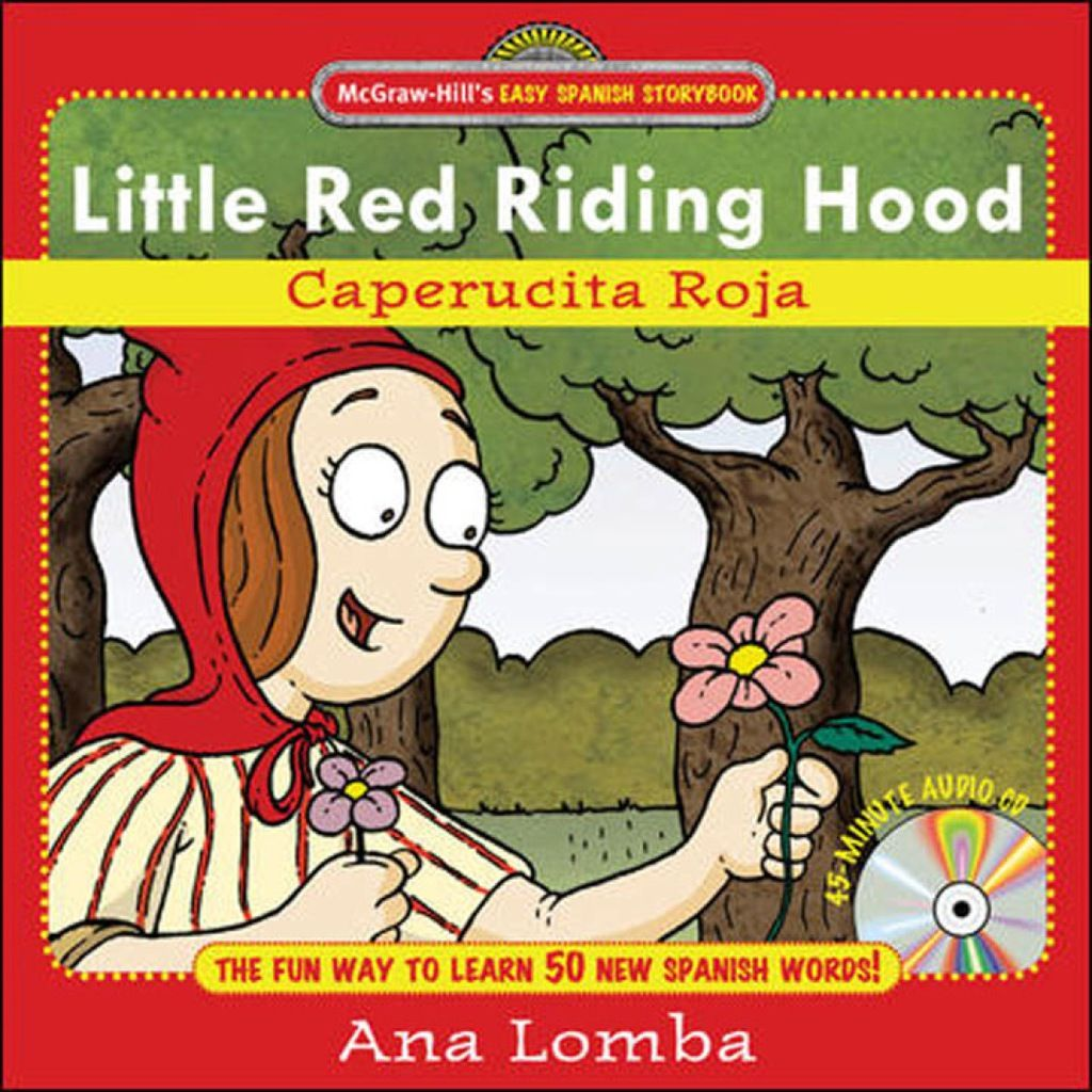 Easy spanish storybook little red riding hood ebook