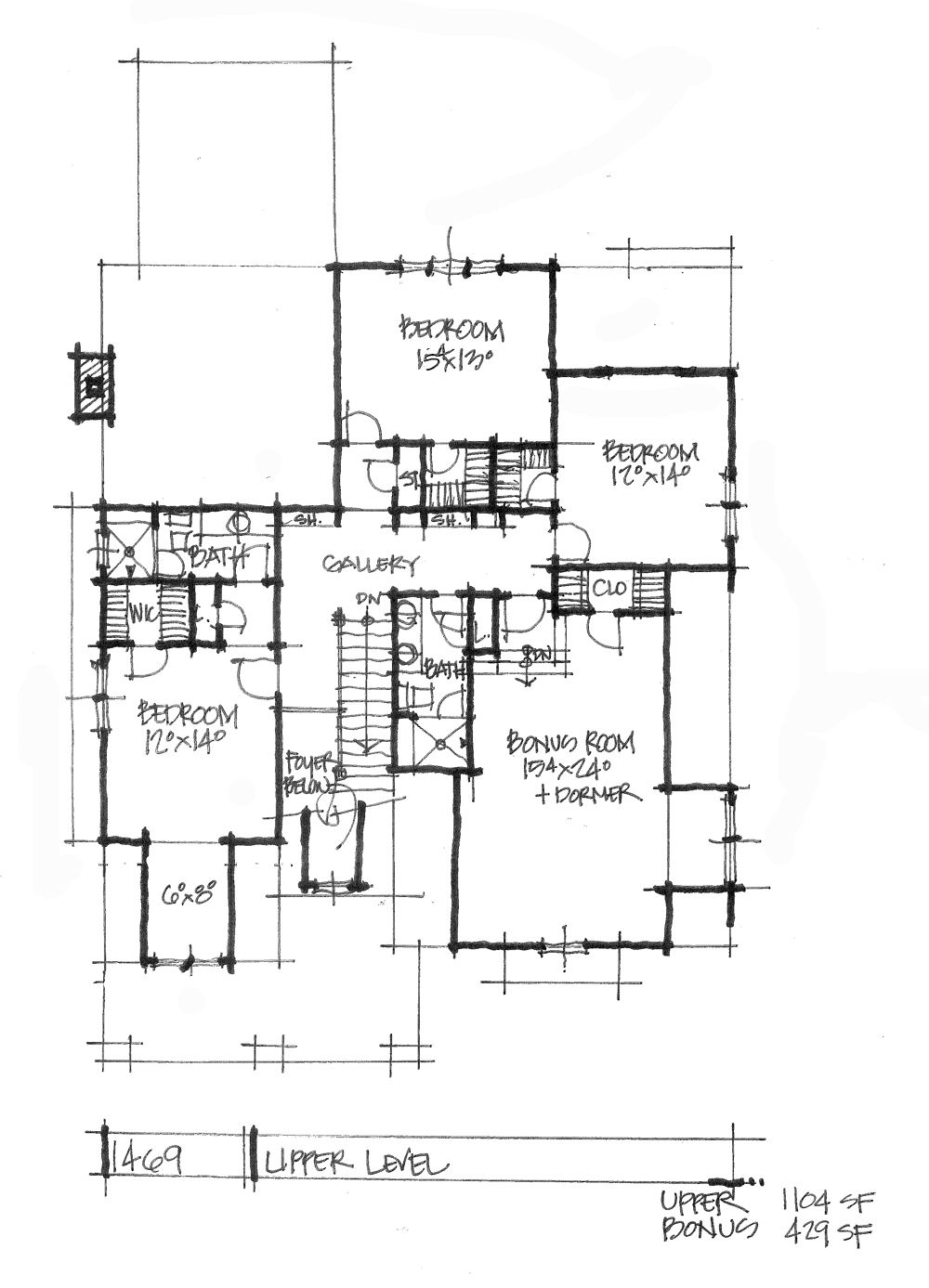 CONCEPTUAL HOUSE PLAN 1469 MODERN AND FAMILYFRIENDLY – Family Friendly House Plans