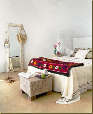 White Bohemian Bedroom white bohemian bedroom. love the idea of having a floor length