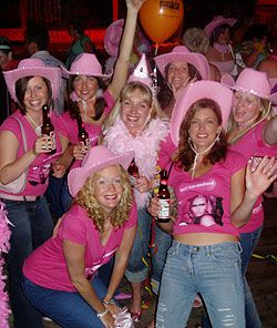 A Bright And Colourful Traditional Hen Party With Plenty Of Pink Www Adventurebritain