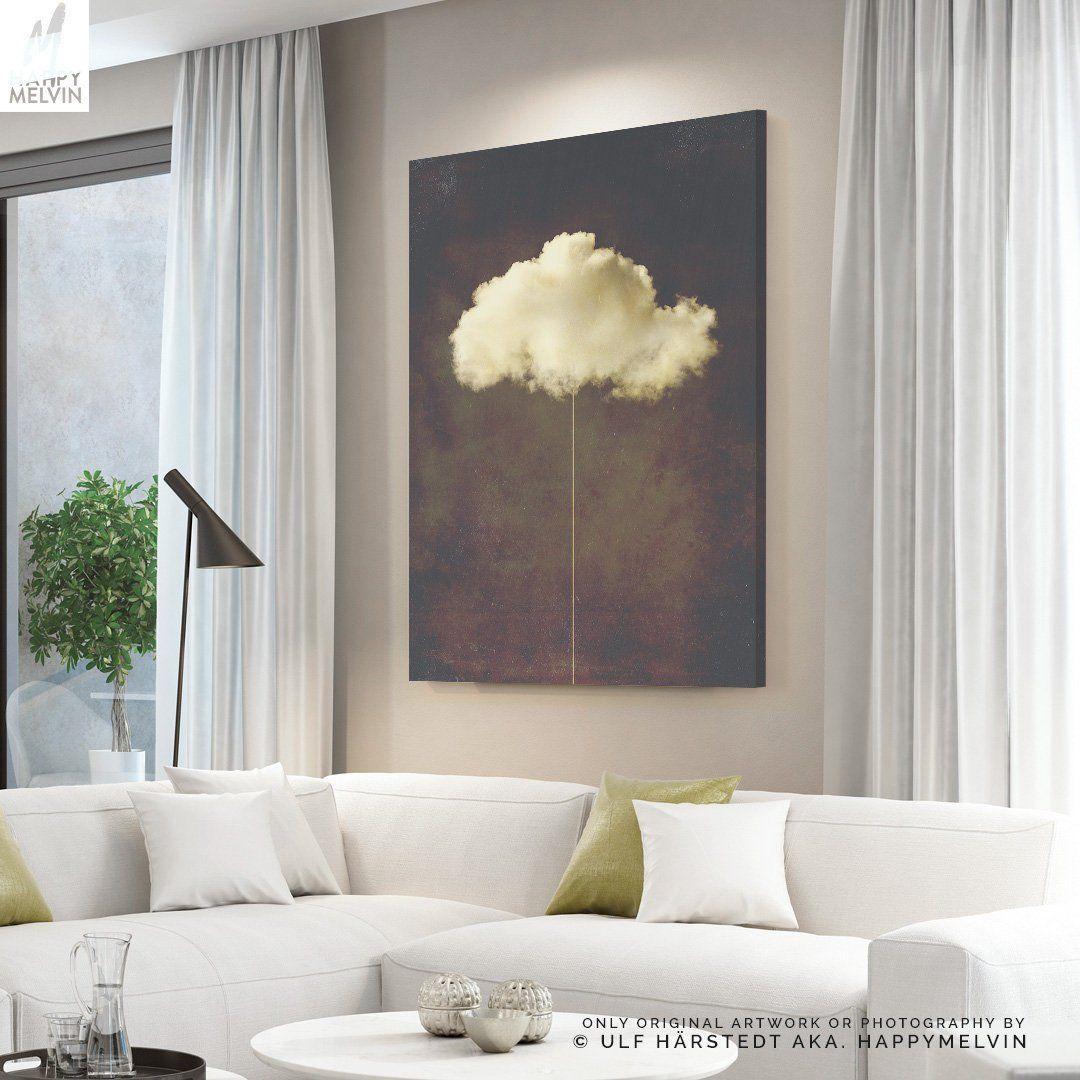Abstract Cloud Canvas Art Modern Wall Art And Wall Decor Etsy Cloud Canvas Abstract Cloud Cloud Canvas Art