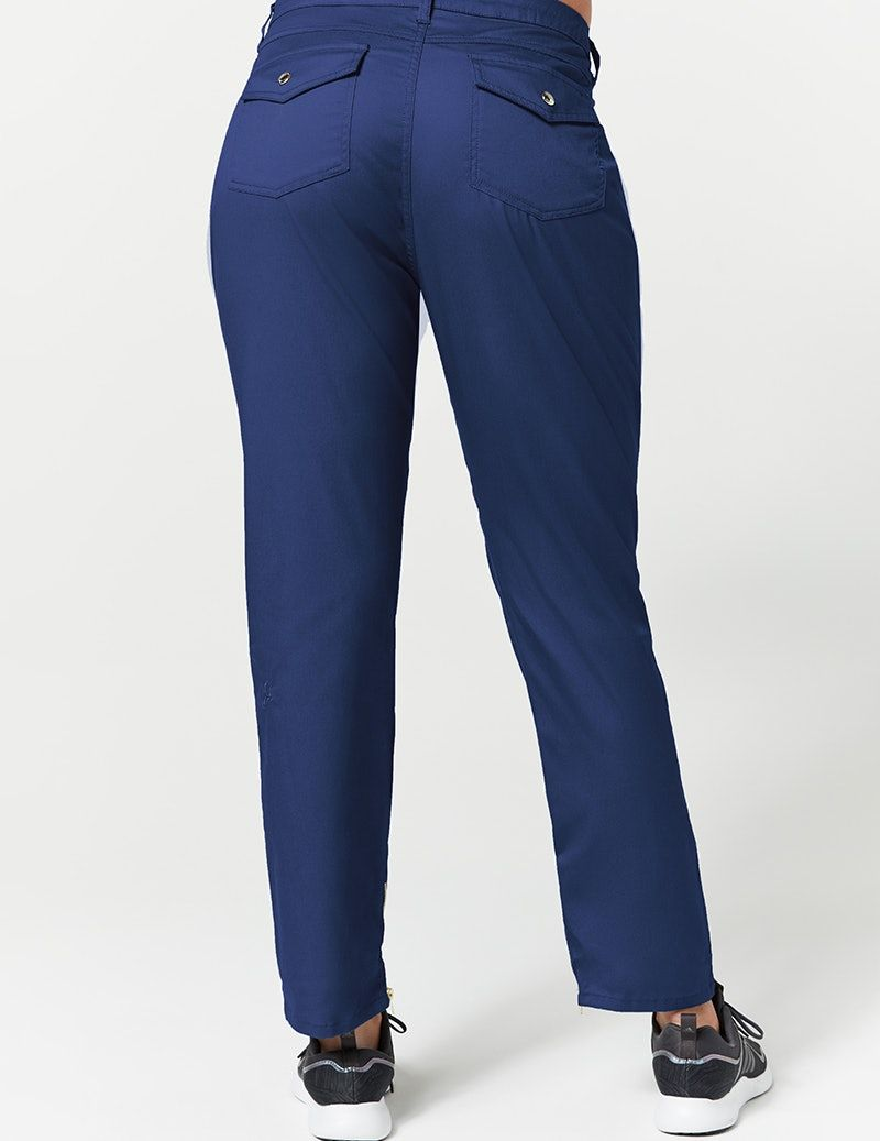 9d9a26942 Skinny Cargo Pant in Estate Navy Blue - Medical Scrubs | Scrubs ...