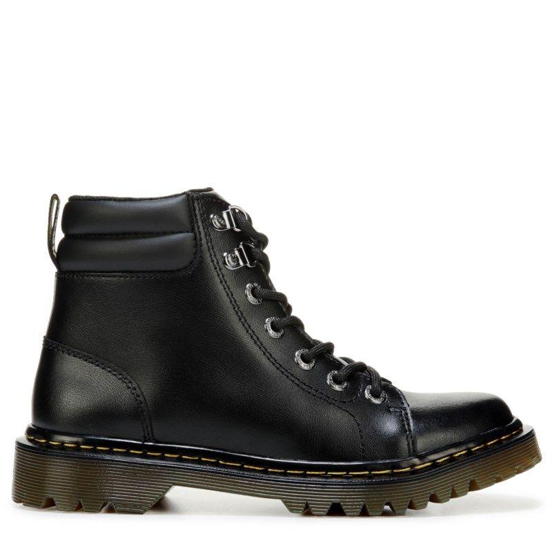 5670728bdda2 Dr. Martens Women s Faora Combat Boots (Black)