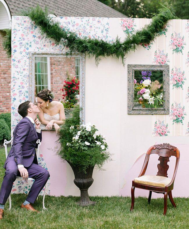 Midsummer Night's Dream Inspired Wedding: Barbara + Adam