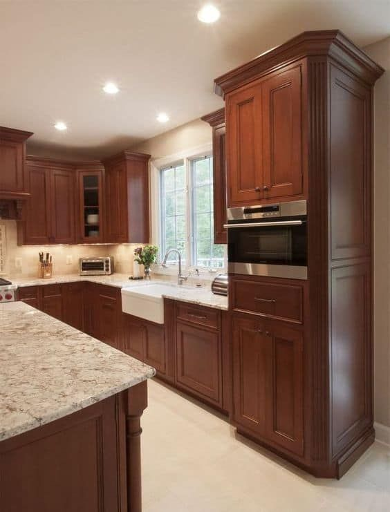 24 Rustic Kitchen Cabinet Ideas for 2020 in 2020 | Brown ...