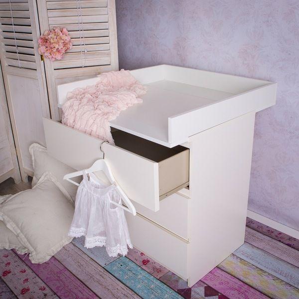 wickelaufs tze wickelaufsatz f r ikea malm kommode neu ein designerst ck von puckdaddy bei. Black Bedroom Furniture Sets. Home Design Ideas