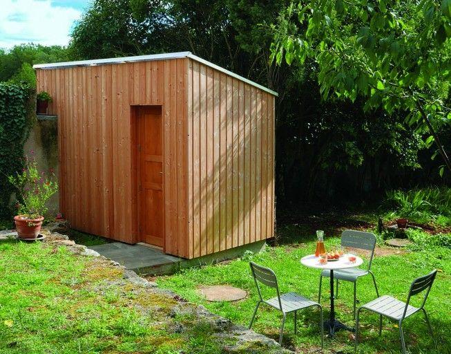 diy comment monter un cabanon au fond de son jardin en 2019 abri de jardin pinterest. Black Bedroom Furniture Sets. Home Design Ideas