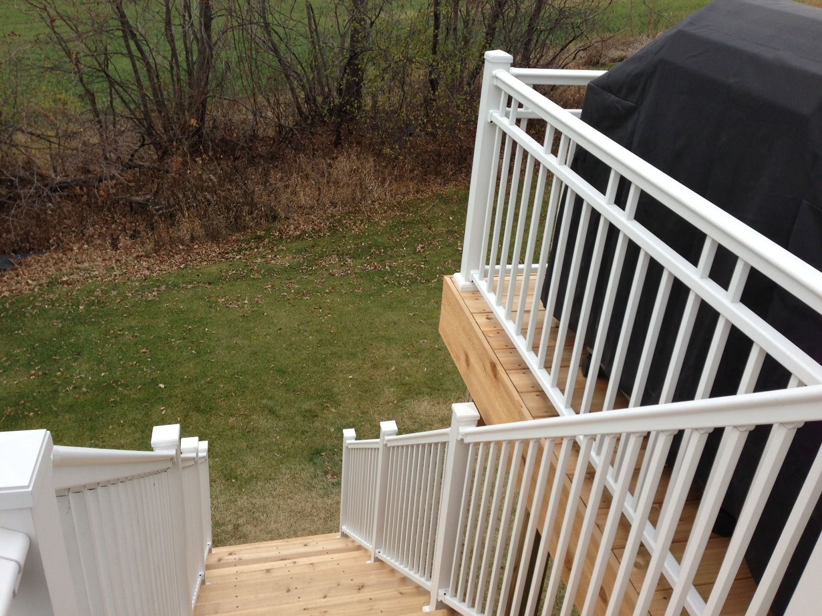 Best Afco Series 125 Railing With The Adjustable 0° 40° Stair 400 x 300