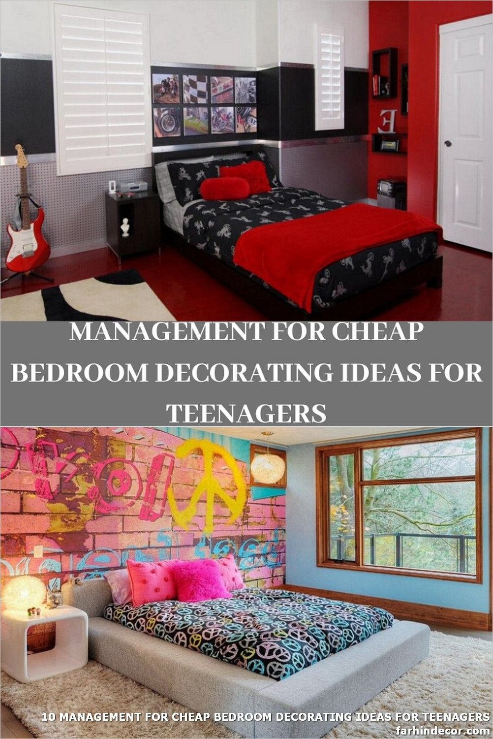 10 Management For Cheap Bedroom Decorating Ideas For Teenagers Bedroom Decor Decor Bedroom