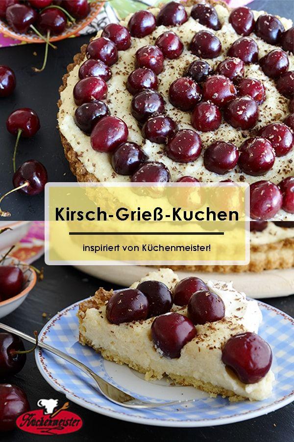 Kirsch Griess Kuchen Inspiriert Von Kuchenmeister Recipes