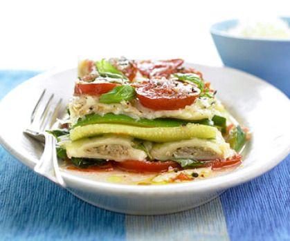 Ravioli Vegetable Stacks #food #recipes