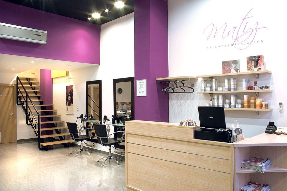 Sala de belleza inspiraci n pinterest salons - Interiores de peluquerias ...