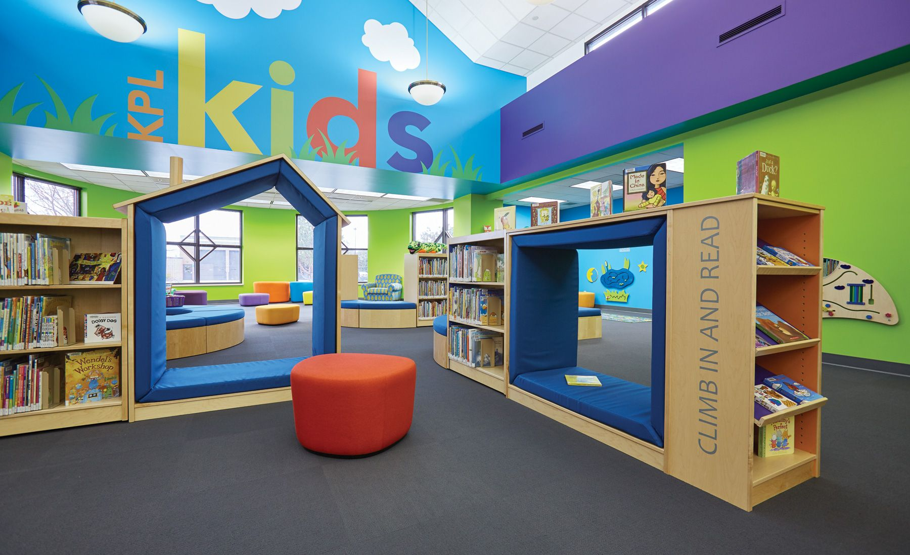 Take A Virtual Tour Of The Kenosha Public Library Where Kids Can Climb On  The Furniture And Are Inspired To Participate In Collaborative Projects.