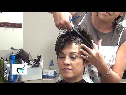 How To Cut and Style Ladies Mohawk Hairstyle - YouTube ...