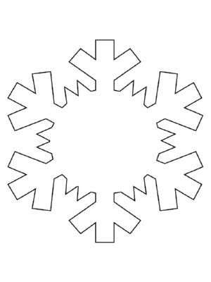 Snowflake Pattern Sneeuwvlok Patroon Frozen  Gingerbread