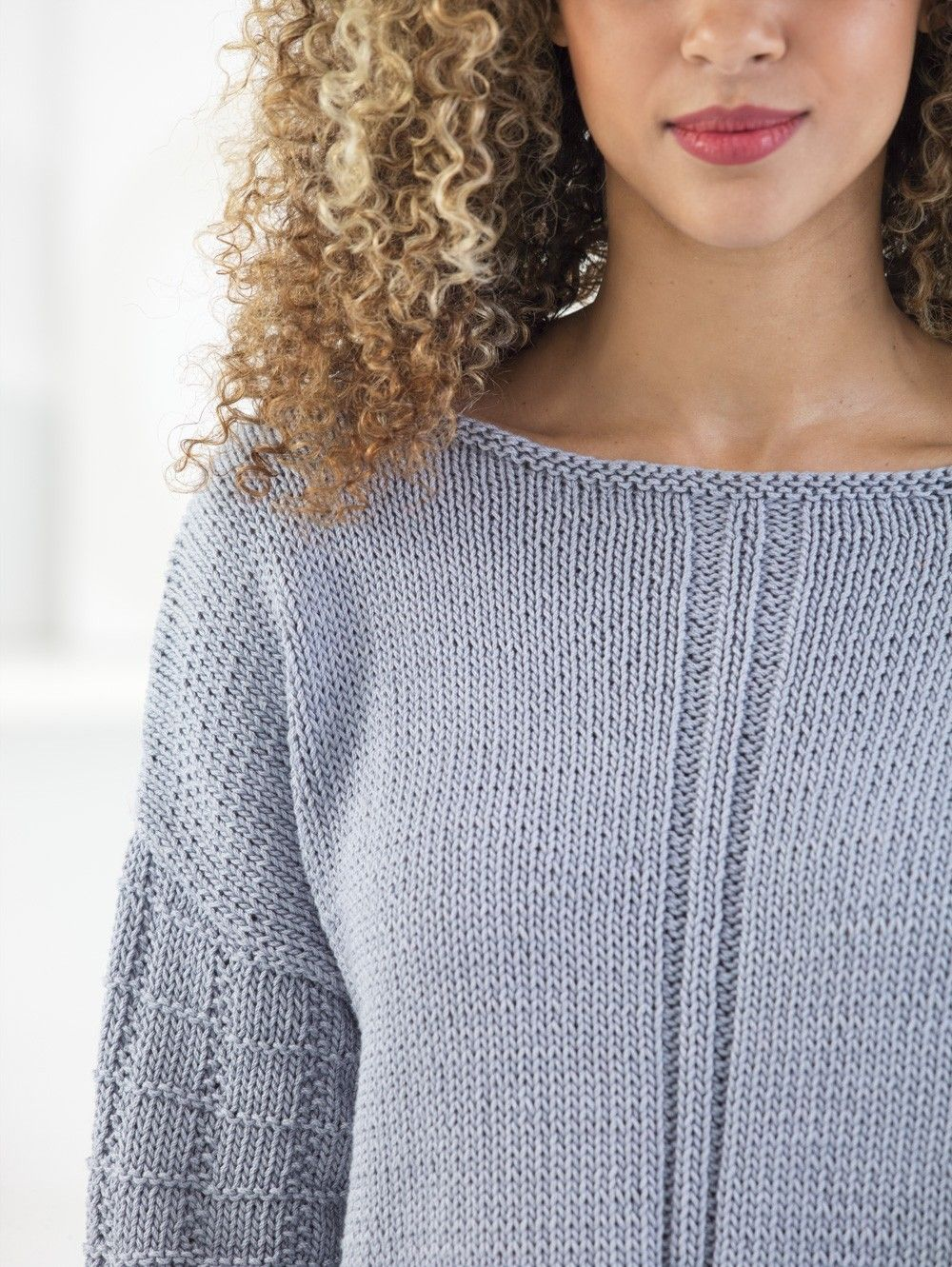 Gridded Pullover (Knit) | Knitting | Pinterest | Pullover, Knit ...