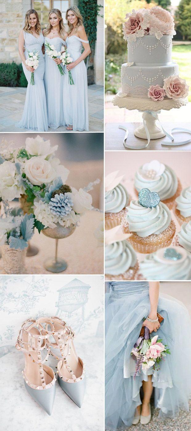 light pastel blue wedding theme ideas 2016 | boda | Pinterest ...