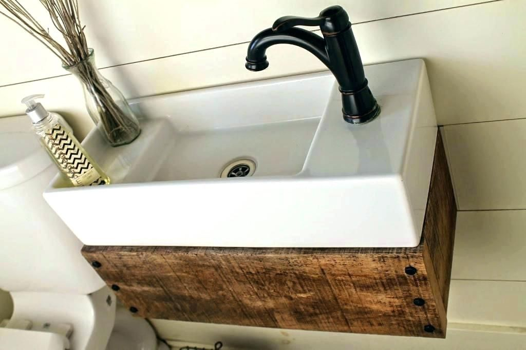 Cool Single Sink Bathroom Vanity Design With Modern Floating Wooden Vanity With Extra St Floating Bathroom Vanities Floating Bathroom Sink Bathroom Sink Vanity