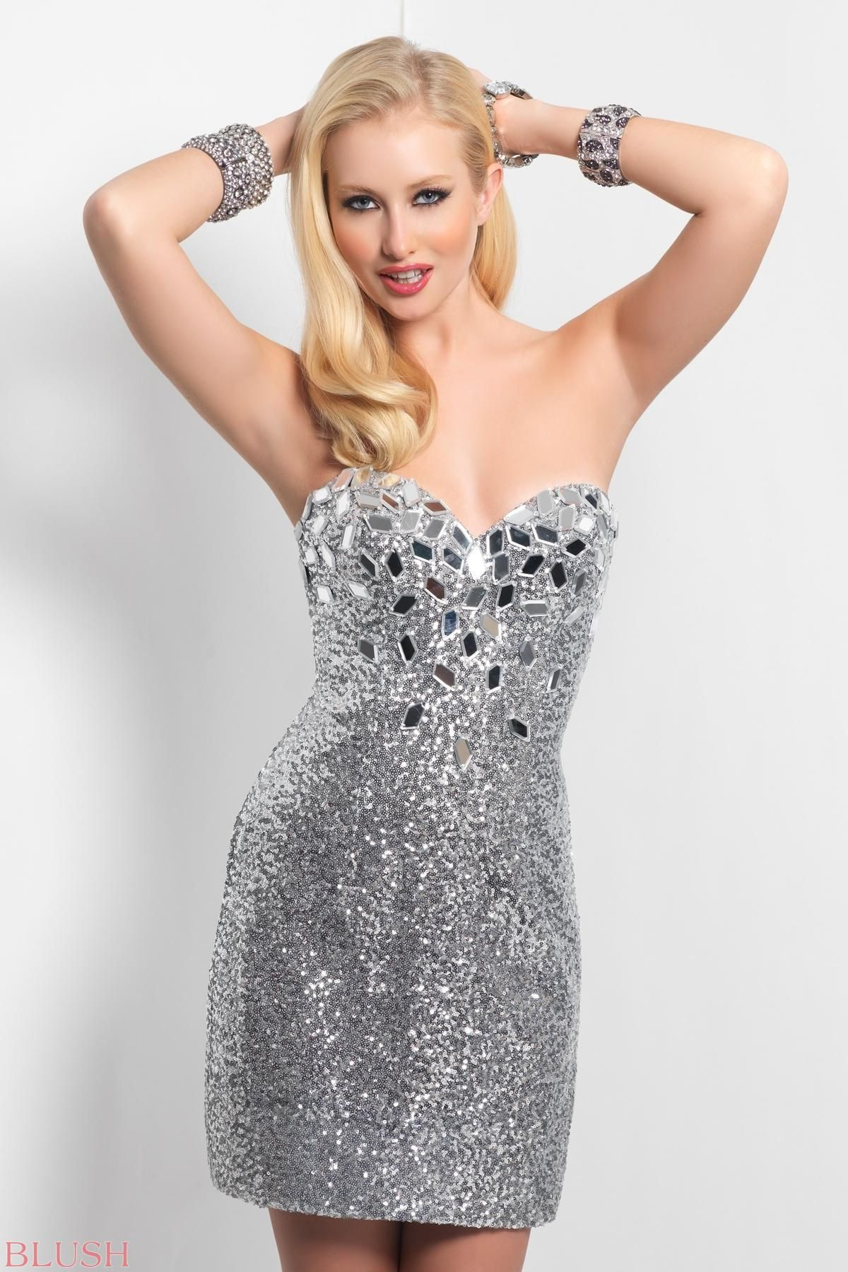 Sparkling bustier this sexy short rocks with a jeweled bust and